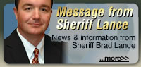 Message from Sheriff Lance
